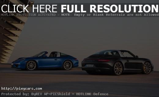Porsche 911 Targa 4 and Targa 4s