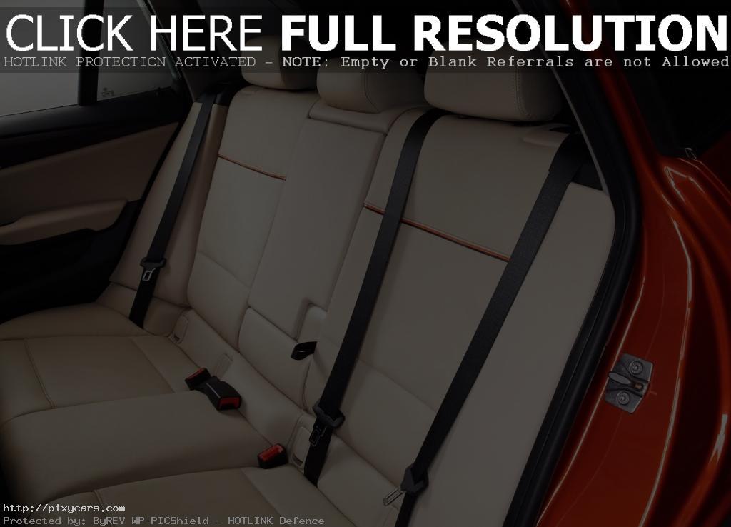 2015 BMW X1 Passenger Seats