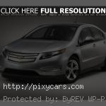 2015 Chevrolet Volt Left Side View