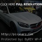 2014 Paris Auto Show Mercedes C63 AMG