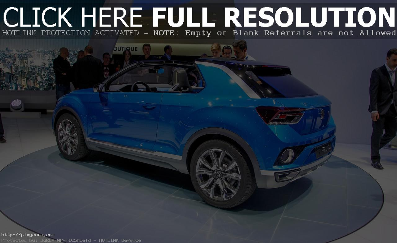 2015 Volkswagen T-Rock Expo