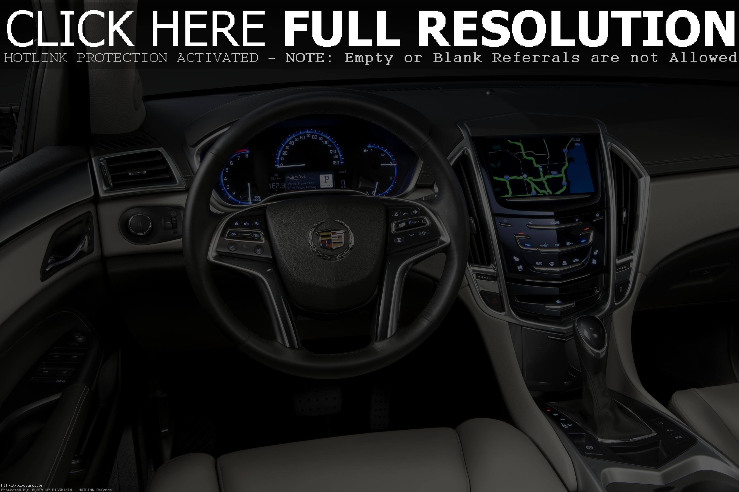 The 2015 Cadillac SRX Crossover Steering