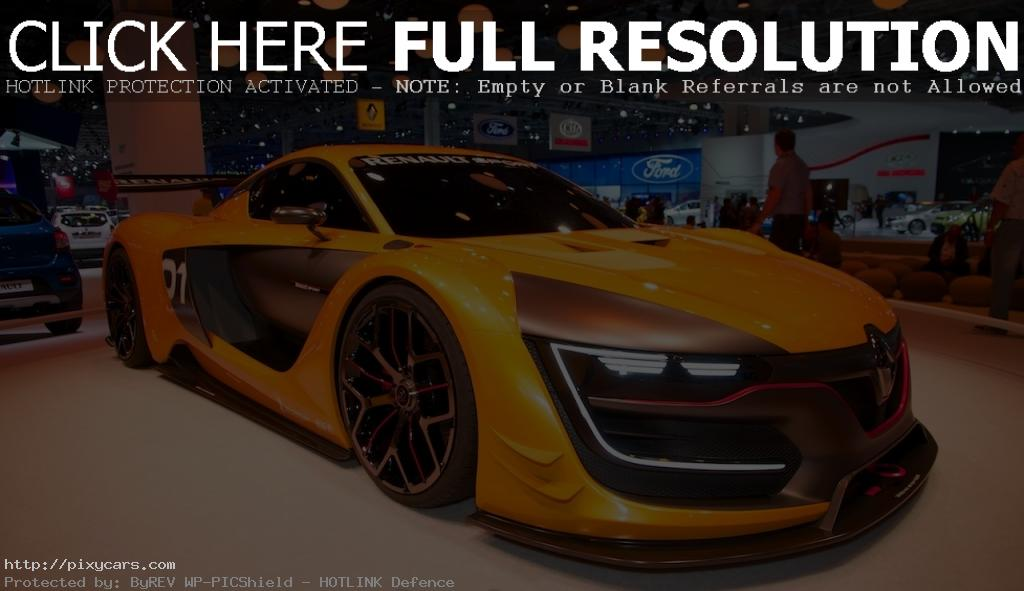 2015 Renault Sports RS 01 Moscow Motor Show