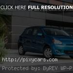 2015 Mitsubishi Mirage Right Exterior