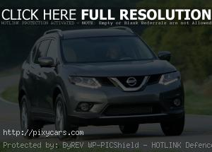 2015 Nissan Rogue Front View