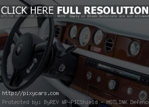 2015 Rolls Royce Phantom Front Interior