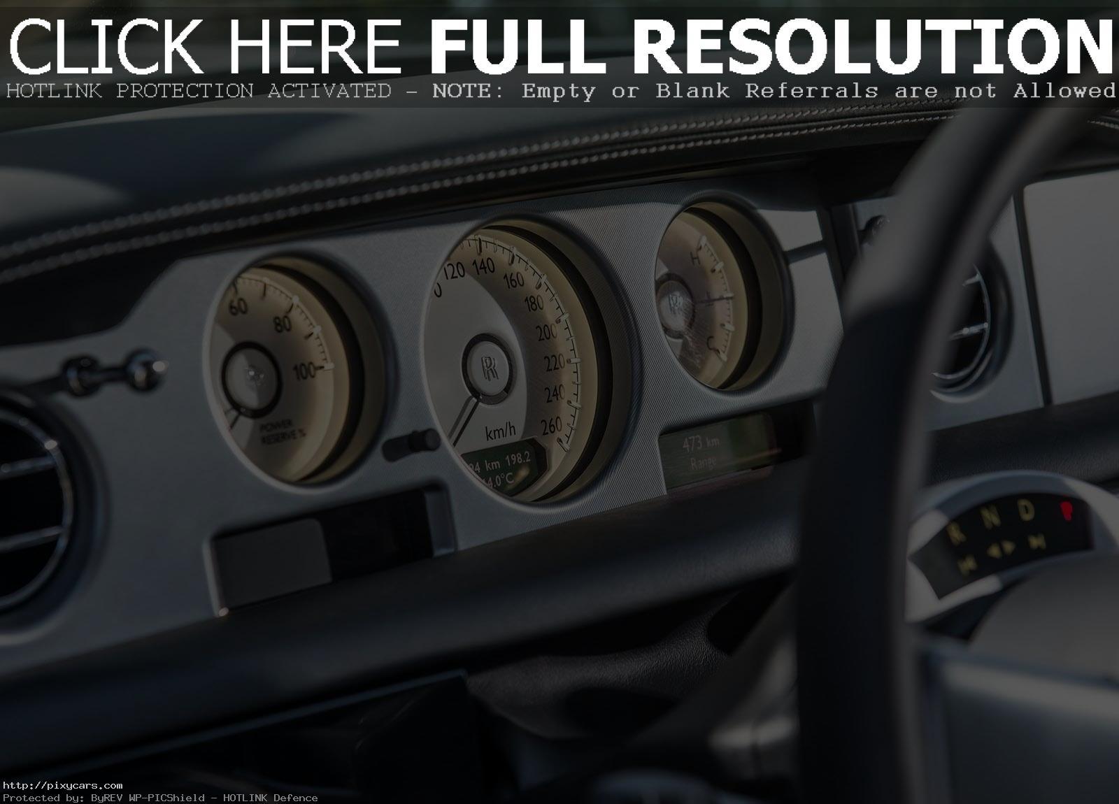 2015 Rolls Royce Phantom Interior Front View