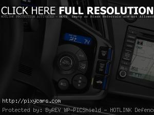2015 Honda CR-Z Console