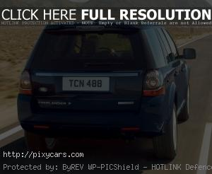 2015 Land Rover Freelander 2 Rear View