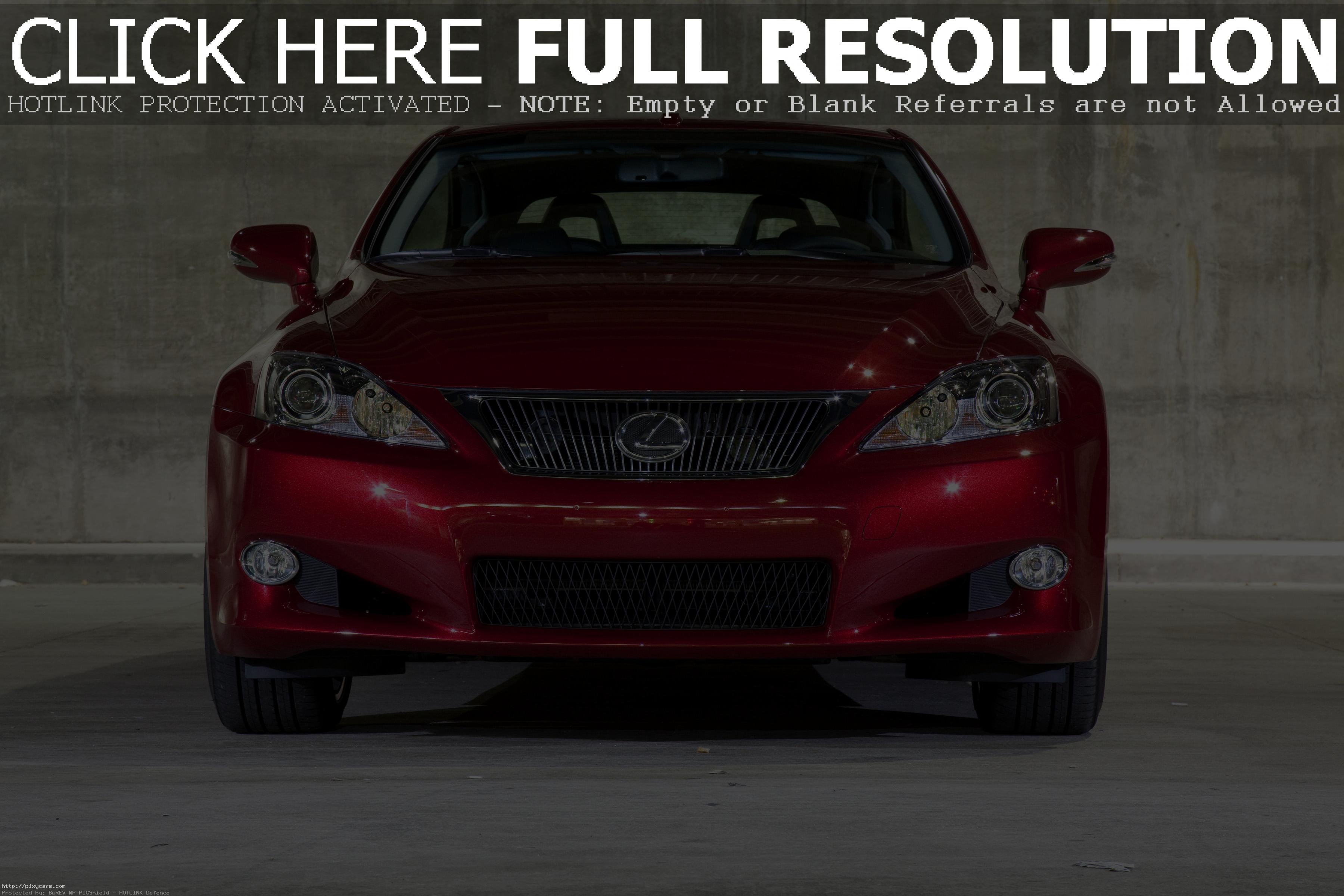 2015 Lexus IS 250 C Front View